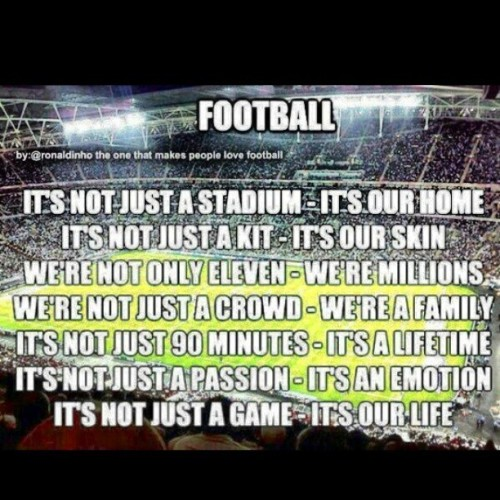 "Its not just ""soccer"" #futbol #thebeautifulgame #soccer #passion #inshort #mylife #FCbarcelona #!!"