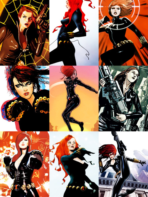 snikette:  Black Widow    Jackie's Endless List of Favorite Characters