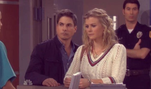 dayscaps:  Days of our Lives - Screen Capture - 5/16/13Lucas and Sami!