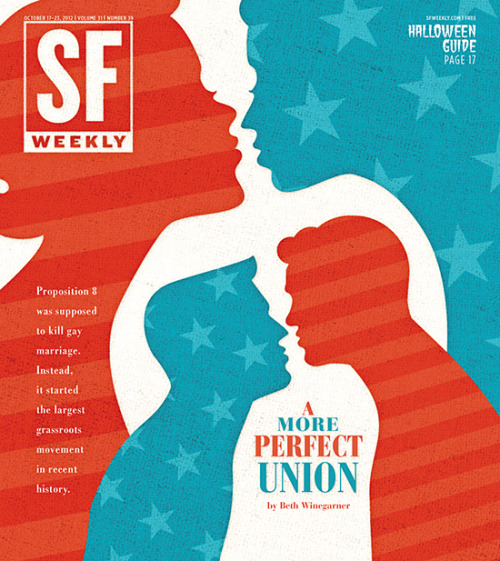 SF Weekly, October 17, 2012Art director: Andrew J. NilsenIllustration: Andrew J. Nilsen