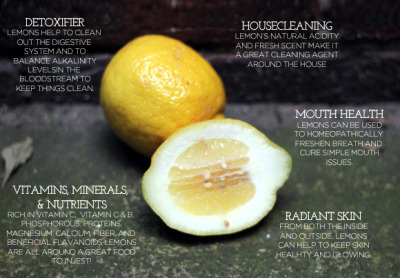 Ever wondered what else lemons are good for besides making lemonade?