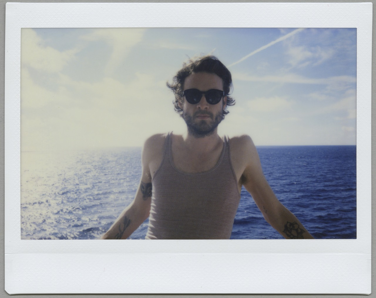 Josh  Off the coast of The Bahamas Photo by Emma Elizabeth Garr