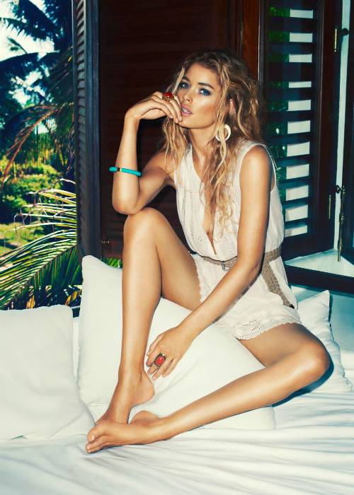 Doutzen Kroes for H&M Summer 2013.