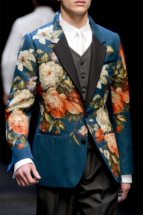 Dolce and Gabbana F/W 2013 Menswear