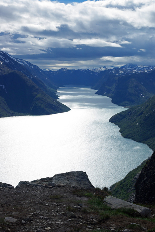Lake Gjende, Norway by Framing Earth