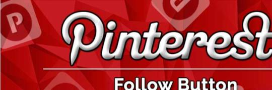 Pinterest follow button op je wordpress site