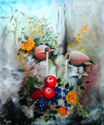 Living nature by     Anna Rita Angiolelli italian painter