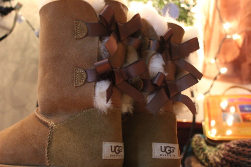 UGGs With Bows Tumblr