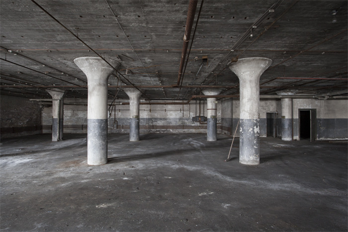Pillars, Factory, CT, 2012 - print available