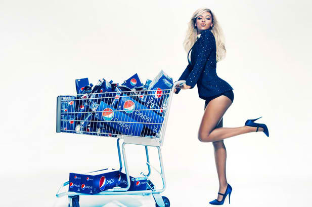 """Pepsi embraces creativity and understands that artists evolve,"" Bey' said in a statement via The New York Times. ""As a businesswoman, this allows me to work with a lifestyle brand with no compromise and without sacrificing my creativity.""  CONGRATS ON THE 50MILLI DEAL KING BEY! xo @RozOonTheGo"