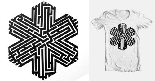 VOTE on Threadless - Eddie Villanueva - Maze 1