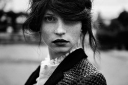 elisebrown:  Egle Tvirbutaite |Next Models| by Paolo Di Lucente for Vogue Italia