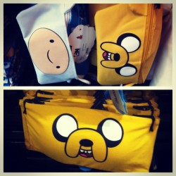 Finn and Jake fanny packs and bandeaus 😳 #adventuretime #finn #jake #fannypack #picstitch