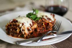Vegetarian Lasagna Rolls-7 by Sonia! The Healthy Foodie on Flickr.