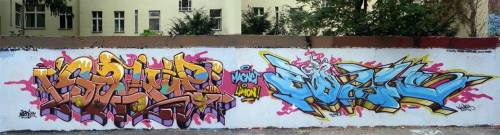 Slork - Boias  Berlin Graffiti 2014