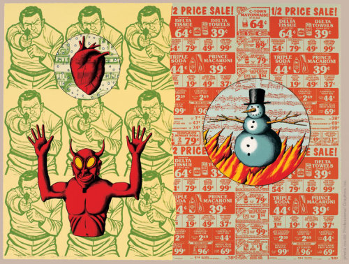 Fire and Water by David Wojnarowicz (1990)