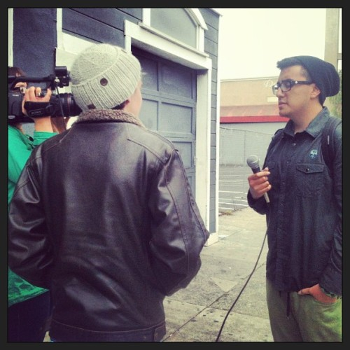 Interview in San Francisco, CA!