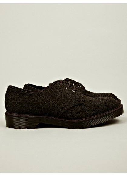 Dr Martens M.I.E. Harris Tweed Percy 3-Eye Shoe - oki-ni