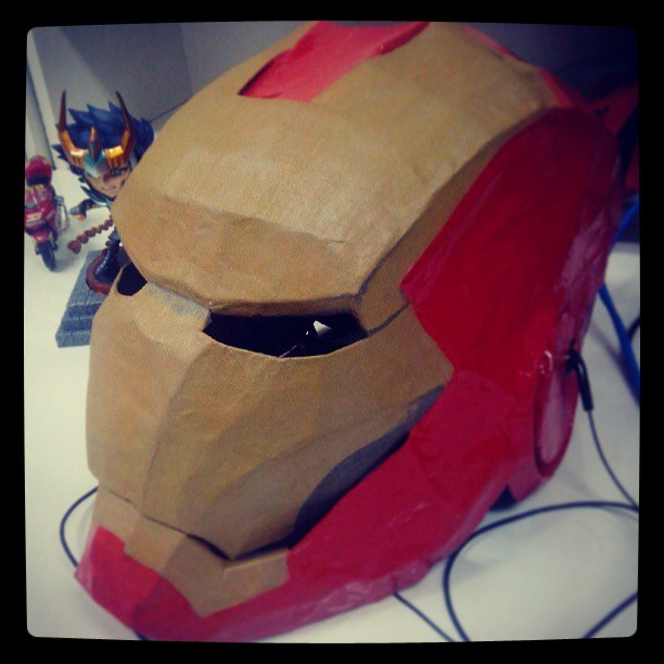Time off #iron #man #made #aetesanal #handmade #wagner #tamborin #movie