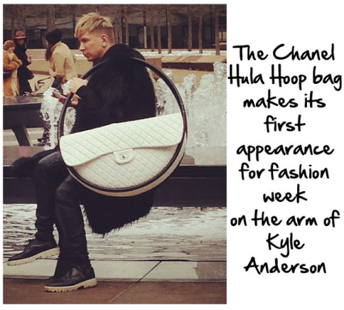 Kyle Anderson @KyleEditor CHANEL at NY Fashion Week