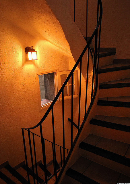 | ♕ |  Awfully steep stairs - Antibes  | by © ratexla