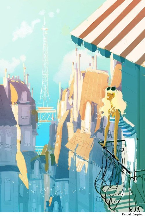 """Spring Break"" by Pascal Campion"