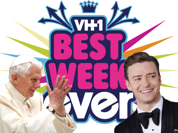 Is the Pope having the Best Week Ever? Or is Justin Timberlake?  We never thought we'd write those phrases in the same post.