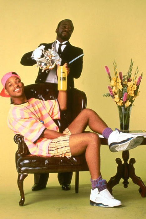 desiremyaffection:  razersharpp:  fresh prince of bel air    Swag as fuck