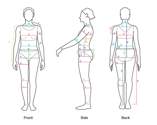 This is a really great guide if you need to know your measurements for clothes! It has 2 forms one for RTW (ready-to-wear) and custom-made, made-to-measure clothes. How to measure yourself by AndrogynousFashion