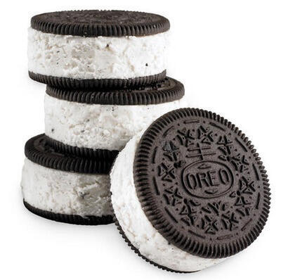 Craving for Oreo Ice Cream Sandwiches.