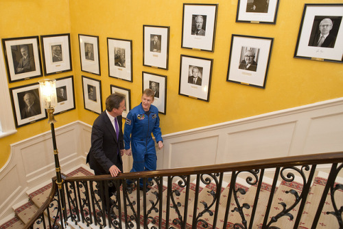 David Cameron welcomes Tim Peake to Downing St by The Prime Minister's Office on Flickr.Denying rumors @warrenellis will be named honor head of the new Ministry of Space.