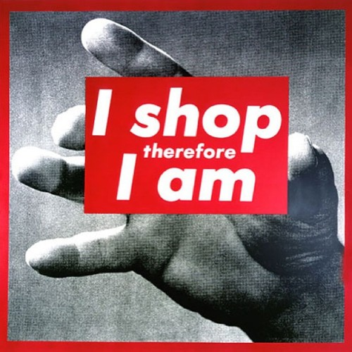 Shit Barbara Kruger says. 💁 #tcrealtalk #instagood #photooftheday