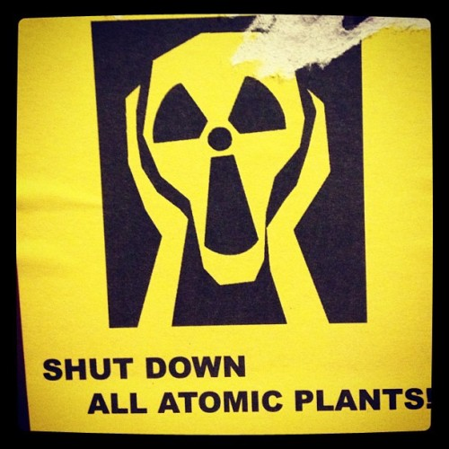 #shut #down #atomic #sticker #berlin