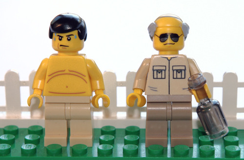 jakemeierlego:  Randy and Mr. Lahey