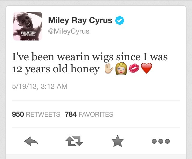 the-absolute-funniest-posts:  pizza: favorite tweet by Miley ever omg