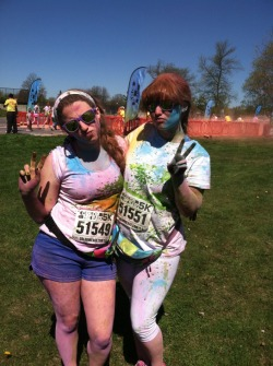 all-overs:  Color Me Rad!  ily