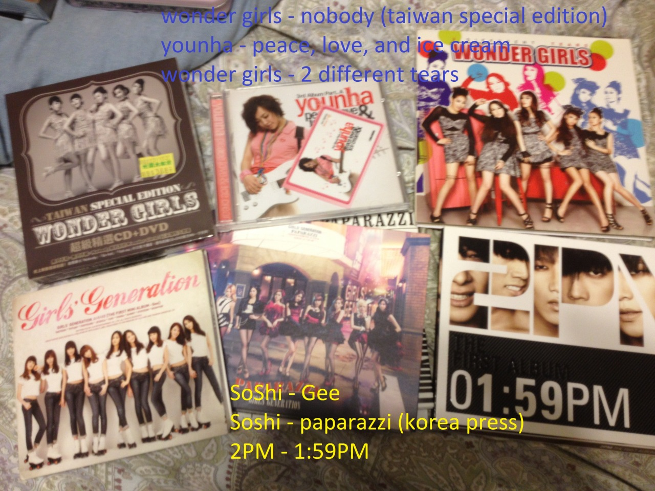 teddybeargun:  MY VERY 1ST KPOP GIVEAWAY (+3 chinese albums) Hey guiseeeeee so im an impulsive buyer and i buy a whole bunch of albums and merchandise that i either look through once or never even touch and i decided, since i love tumblr folk so much, why not give it to someone who will actually appreciate it???? SO IM HAVING A GIVEAWAY AWESOME IKR so yeah rules and stuff i guess lol: 1. reblog or like however much you like (hahah i said like twice) 2. must be following me, this giveaway is for my lovely followers<3 (don't just follow for the giveaway and then unfollow afterwards i'll be sad :( ) 3. that's it but i felt like having 3 rules because i like the number 3 DEADLINE: JUNE 28 (seohyun's bday lol) the day after that i'll do a random generator thing and pick 2 people, 1 thing each and send an ask so make sure your askboxes are open then! if not, ill have to pick someone else!! sadlyfe :( and you'll have 2 days to respond to my ask if i dont get a response after that i'll pick another person even more sad MERCHANDISE: EVERYTHING THAT IS SHOWN IN THE PICTURES ABOVE IF YOU HAVE ANY QUESTIONS ABOUT ANYTHING IN THE PICTURES ASK ME if you have any QUESTIONS just shoot me an ask or tweet me, my twitter is @teddybeargun i also have a lot of other things i want to giveaway so if this giveaway goes well i'll definitely do more in the future!!