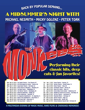 The Monkees announce summer tour
