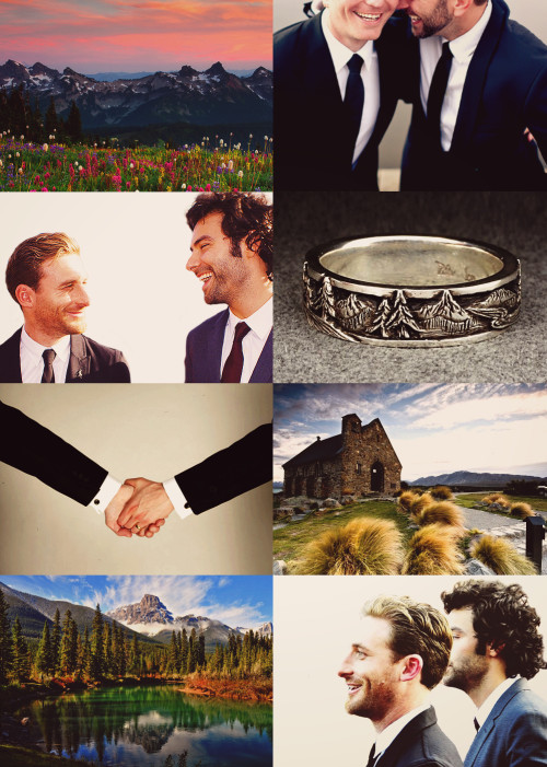 Modern AU: Fili and Kili are getting married