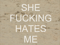 nobodyputsfetusinthecorner:  She Hates Me- Puddle of Mud