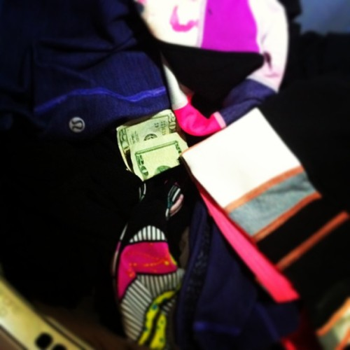 It's a good laundry day! #chaching