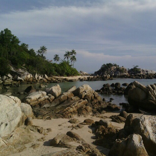 Parai Beach, Sungailiat, Bangka -Indonesia-