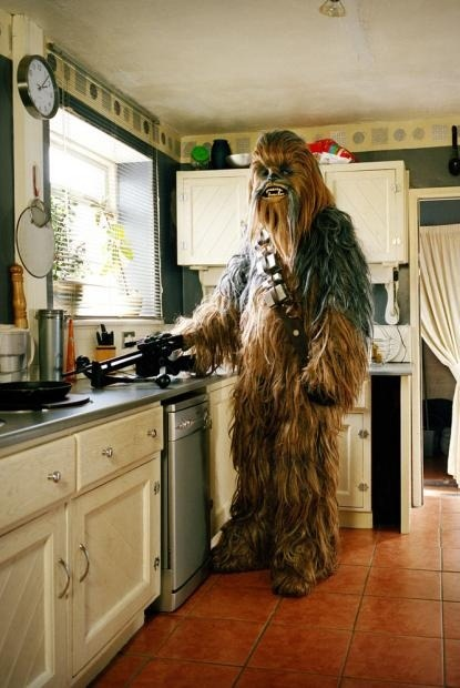 Chewbacca in da house