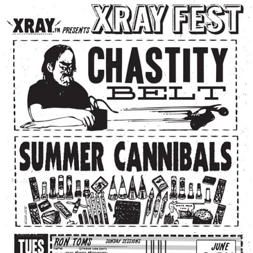 #WOAH @SCannibalsBand will shred @RontomsSundays night of #XRAYFEST June 9th!!! 🎶 #pdxmusic #free