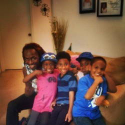 My nieces and nephews.. I love these babies…. Only ones missing my brother kids and mine. #happy #unclej