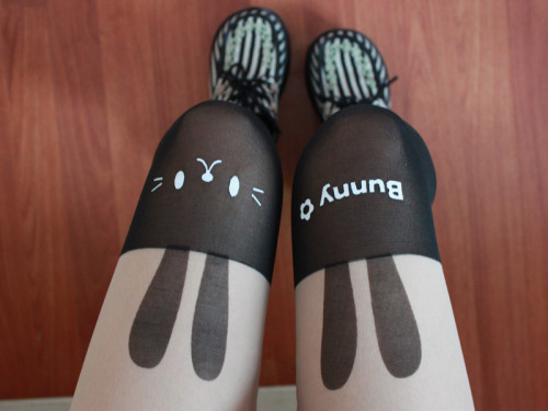 brave:  bunny tights at brave store