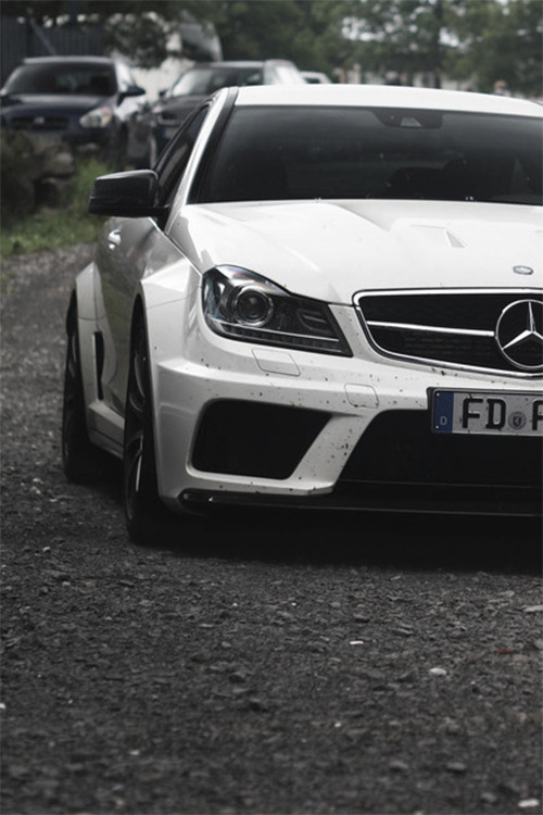 themanliness:  Mercedes C63 AMG Black Series | Source | More