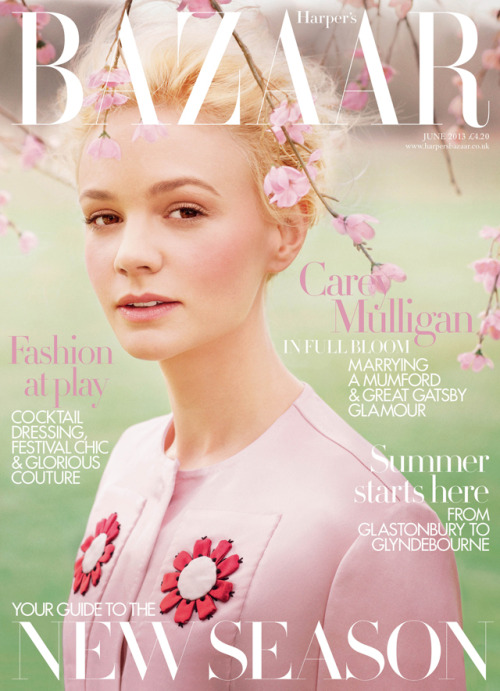 bohemea:  Carey Mulligan - Bazaar UK by Tom Allen, June 2013