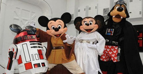 thedailywhat:  Farewell of the Day: Disney Shuts Down LucasArts Only months after Disney's acquisition of Lucasfilm in December, the multinational media corporation has announced today that all current projects in development by LucasArts (Star Wars 1313 & Star Wars: First Assault) have been cancelled, effectively closing down the video game division of the Star Wars franchise.   Damn!