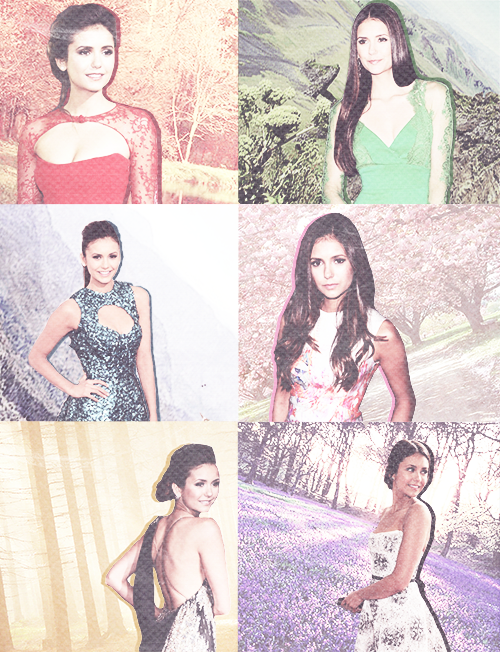 Color porn: Nina Dobrev | Appearances